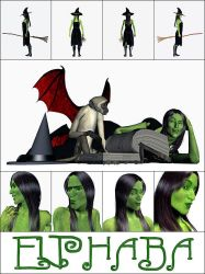 Elphaba Sheet by Joseph-The-Quick