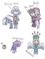 Tales of Symphonia Chibis 2 by puremrz