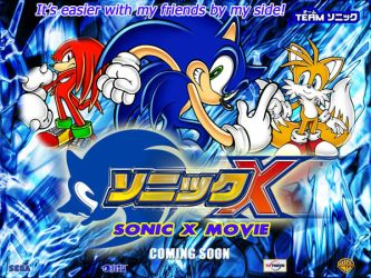 Sonic X The Movie Wallpaper 1 by Joramchameleon