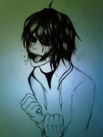 Jeff the killer ( I don't want to be a monster ) by Meka2201