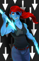 Undyne by RenonsPrints