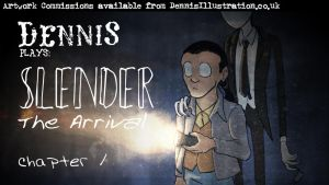 Slender the Arrival Title Card by devillo