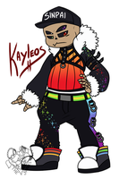 [P] Kayleos Reference Sheet (Skelesona) by NobleChinchi