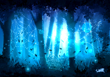 Finger Painting 2: Enchanted Forest by ChickWithDreads