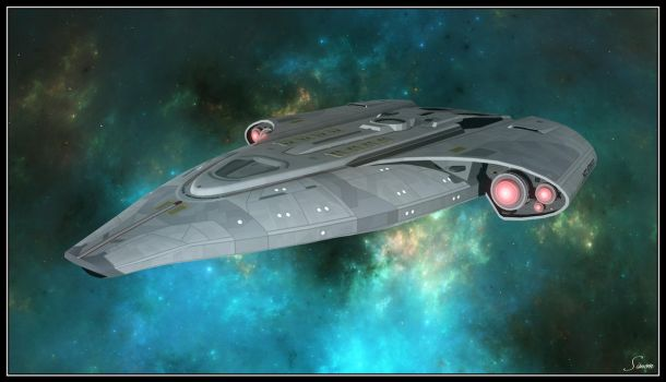 U.S.S. MONGOOSE - NCC-972410 by celticarchie