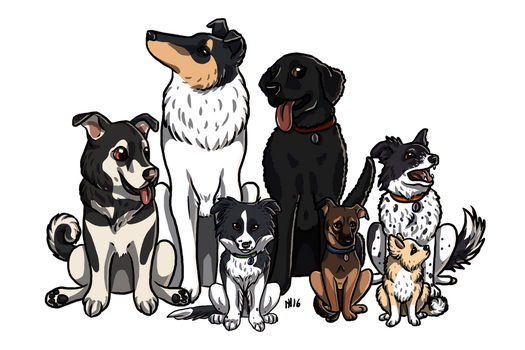 Our Dogs by Kekreations