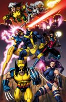 XMEN 90s era by Dan-the-artguy
