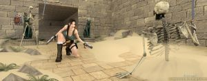 Tomb Raider 4   Danger on the road by trazuzen