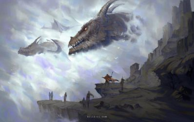 Passing Dragons by Nele-Diel