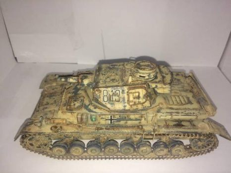 Panzer IV Ausf.D Afrika Korps Version. by franciscoa51