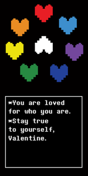 Undertale Valentine-Not One Soul by Fire-Star-Bird