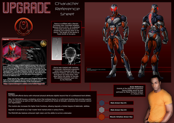Upgrade Character Reference by DamienPhoenix