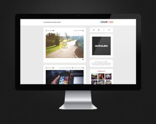 UltraMnml, Minimal, Responsive Tumblr Theme by TheUltraLinx