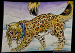 Raika : ACEO by whitew3r3wolf