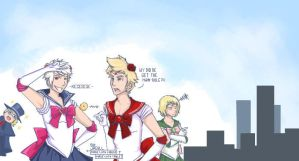 APH- SailorMoon theme? by Jacyll