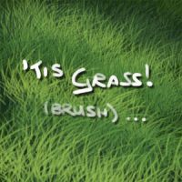 'Tis Grass - brush EDIT by FlyingGekko774