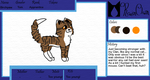Birchpaw application sheet by ThatCreativeCat