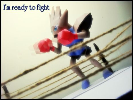 Hitmonchan - I'm ready to fight by Toshikun