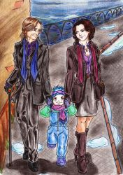 for fanfic Dad, Mom, Henry Gold and Storybrooke by DraconsSon
