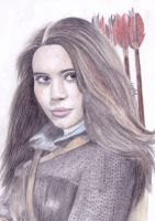 Susan Pevensie Drawing by Narniakid