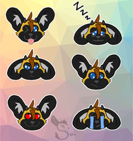 Telegram Emoji Stickers by ShokiDeNai