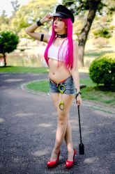 Poison II - Street Fighter by FlorBcosplay