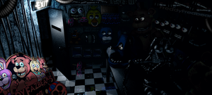 Freddy's Wonderland - Storage room by FreddyFredbear