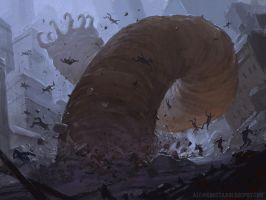 Destructor Wurm by AlexKonstad