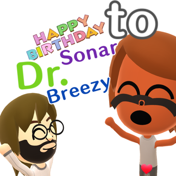 Happy Birthday, Sonar! by Warey102
