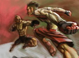 GSP vs HARDY by jamuck