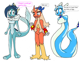 Pokemorphs by Redflare500