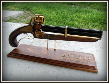 Anubis Steamgun by ShadowArcher80