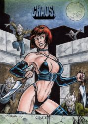 Chastity Sketch Card by tonyperna