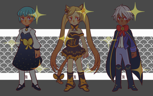 [CLOSED] Star Kids Adopts #2 by thugbit