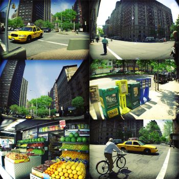 Lomo photos of New york by stareater