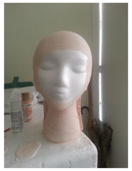 Con project stage 0.5    itachi head   view 1 by EmpressKeyra