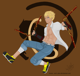 Sun Wukong by hearts-and-pins
