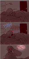 Is there room for two..(underfell) by Bunnymuse