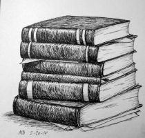 Realistic Bookssss by Mikas-Trash