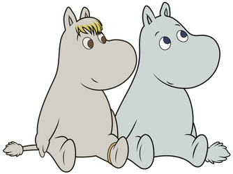 Snorkmaiden and Moomin (Episode 5) by DJDavid98