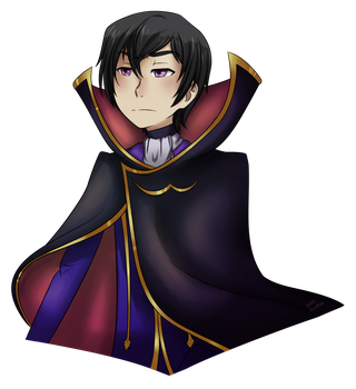 [Commission] Zero - Code Geass by DarkDoodles