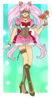 Steampunk Chibimoon by Sailor-Serenity