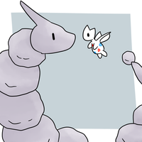 Togetic and Onix