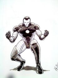 Iron Man sketch by pjperez