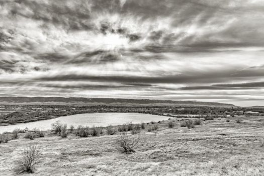 Casper Mountain - BW by DeTea