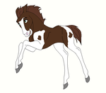 Mystery Foal Adopt #1 - allieandzoey by mkayswritings