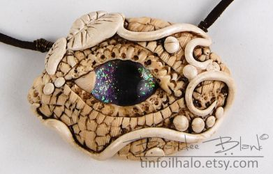 Ivory Dragon Eye by TinfoilHalo