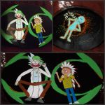 Rick and Morty Stash Box by ChumpShoes