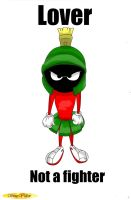 Angry Marvin by Toufeuilles