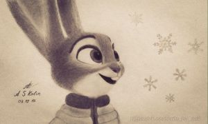 Winter in Zootopia by AndrejSKalin